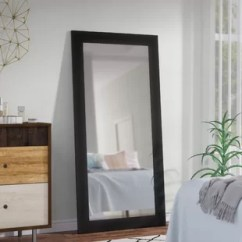 Full Size Mirror In Living Room Upholstered Stools For Vintage Length Wayfair Quickview