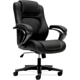 hon desk chair upholstered office with casters chairs you ll love wayfair quickview
