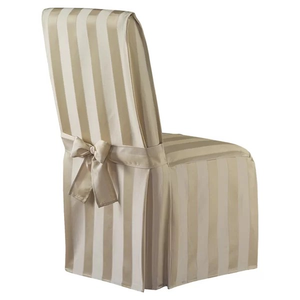 burlap chair covers for folding chairs desk dubai kitchen dining you ll love wayfair