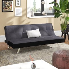Rialto Faux Leather Futon Sofa Bed 3 Seater Fabric With Storage Chaise Gradschoolfairs