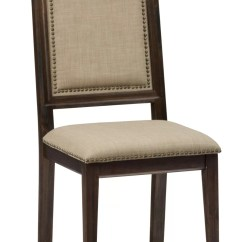 Upholstered Chair With Nailhead Trim Kartell Clap Darby Home Co Dino Dining Wayfair