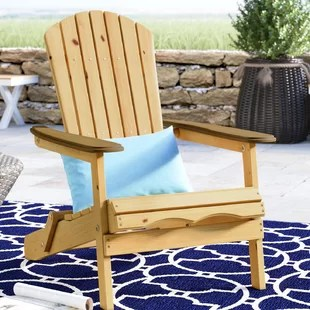 rocky oversized folding arm chair small table and chairs set for kitchen adirondack wayfair lissette