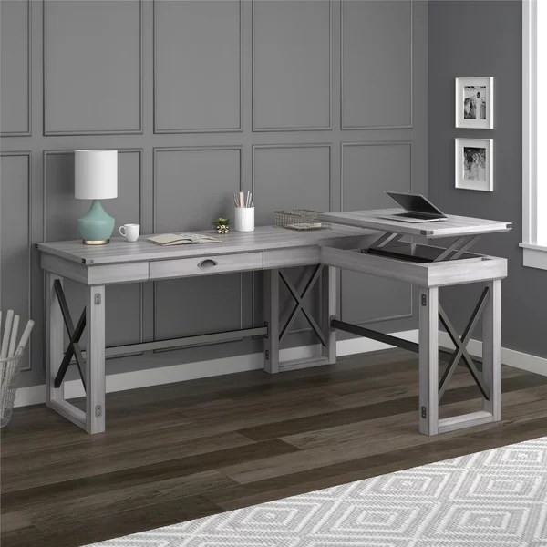 Laurel Foundry Modern Farmhouse Gladstone L Shape Standing
