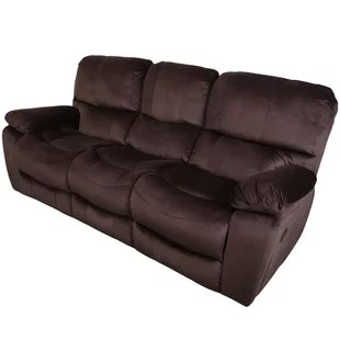 triple reclining sofa seat covers brand new 3 recliner wayfair carraton seats