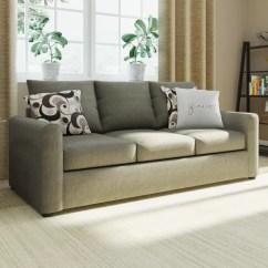 Capetown Sofa In Oatmeal Trundle Sleeper Town House Wayfair