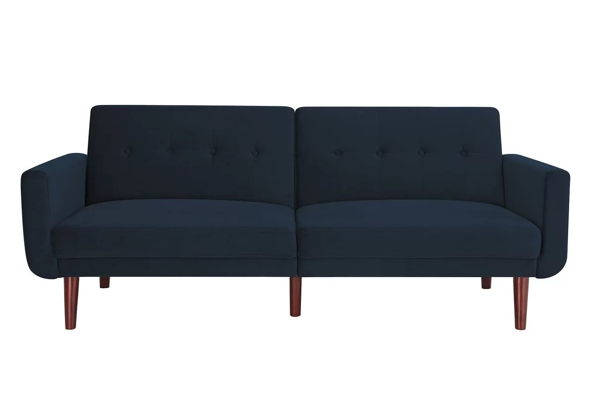 how much fabric to cover a sectional sofa do american leather sofas cost modern convertible george oliver annsville ...
