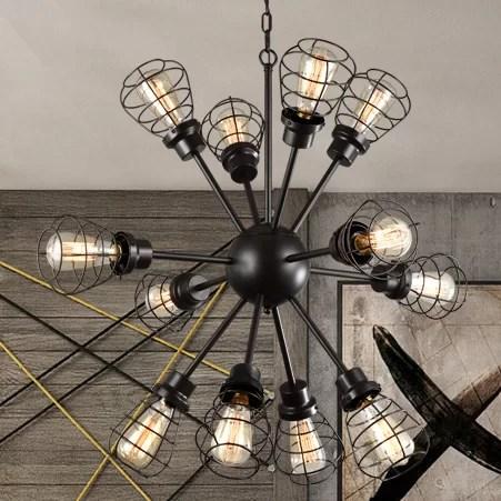 Glennis Edison 12 Light Sputnik Chandelier