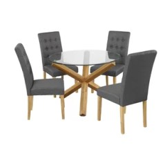 Round Kitchen Table For 6 Aid Ksm Dining Chairs Wayfair Co Uk Search Results