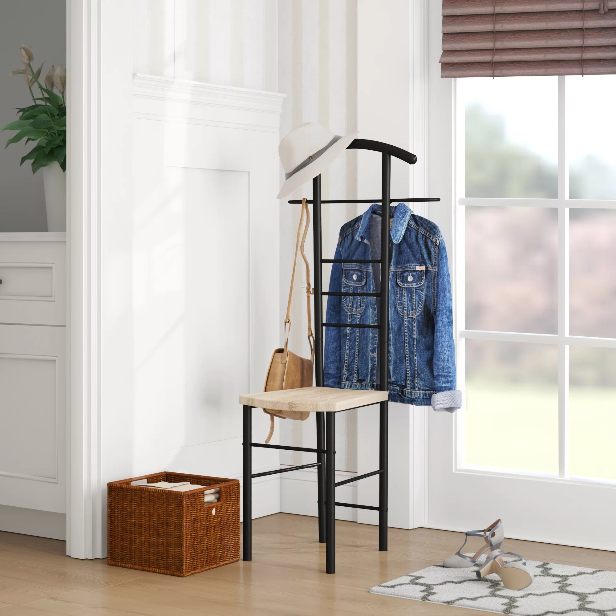 bedroom wardrobe chair valet wicker outdoor dining chairs australia wayfair coombs stand