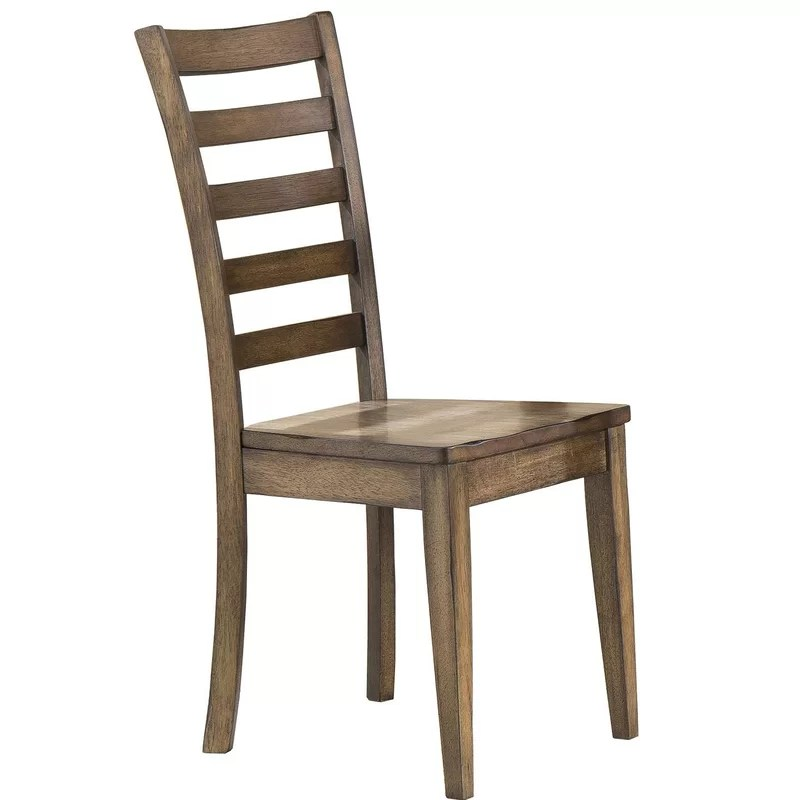ladderback dining chairs steel chair hsn code rosecliff heights rutledge solid wood