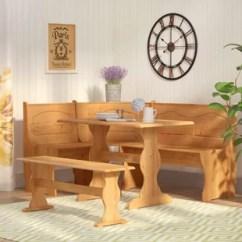 Kitchen Table Nook Cedar Cabinets Dinettes Breakfast Nooks You Ll Love Wayfair Patty 3 Piece Dining Set