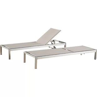 outdoor chaise lounge chairs with wheels plastic coimbatore modern lounges allmodern durbin set of 2