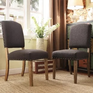 cloth dining room chairs malden adirondack chair picture frame upholstered birch lane quickview