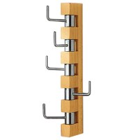 Techstyle Vertical Wall Mounted Coat Rack & Reviews