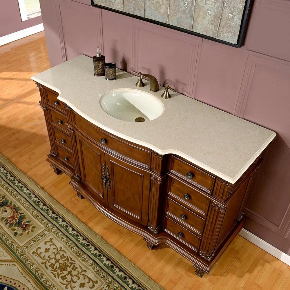 Silkroad Exclusive Esther 60 Single Bathroom Vanity Set  Reviews  Wayfair
