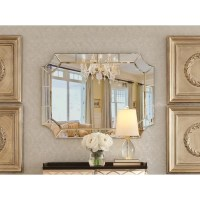 Scalloped Corner Wall Mirror & Reviews   Birch Lane
