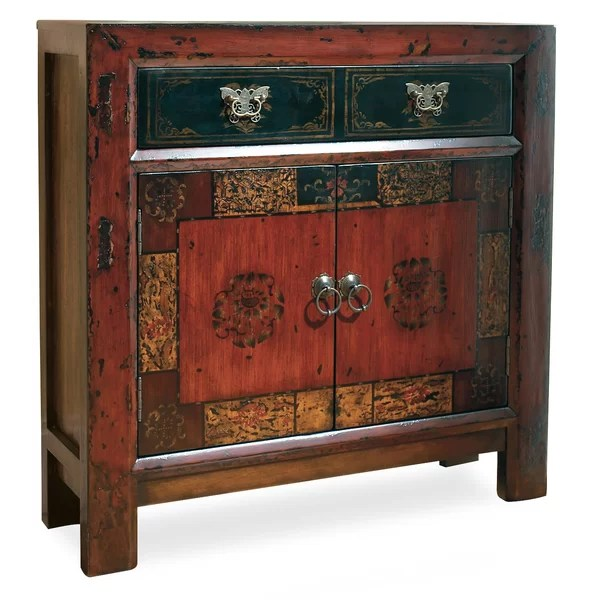 Hooker Furniture Asian 2 Door1 Drawer Hall Accent Cabinet