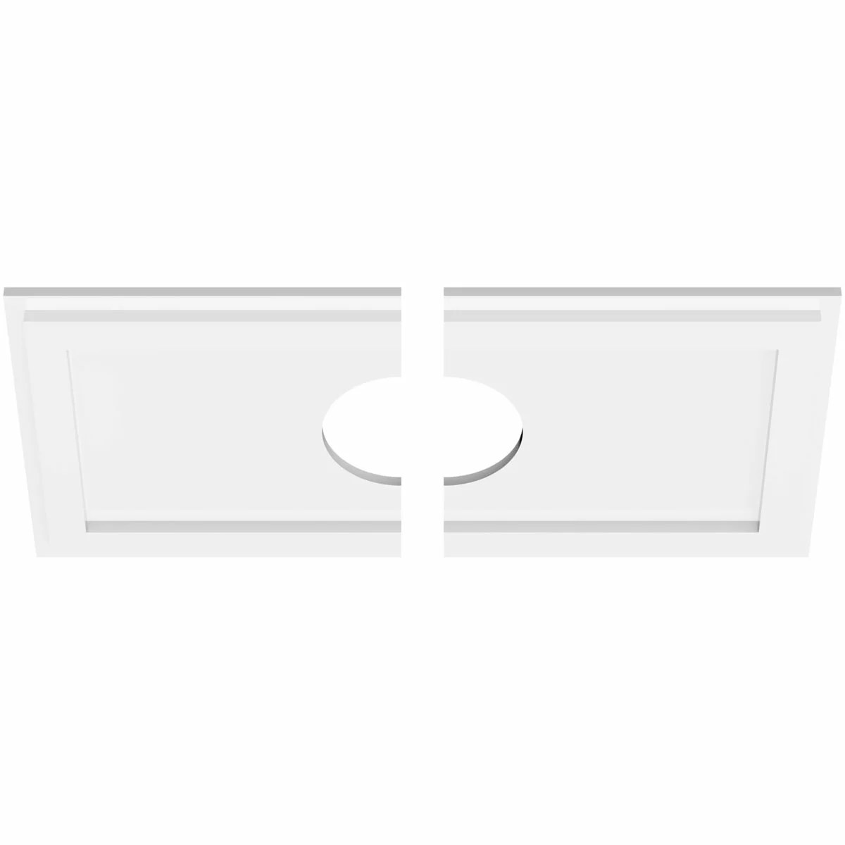 Ekena Millwork Rectangle Architectural Grade Pvc Ceiling