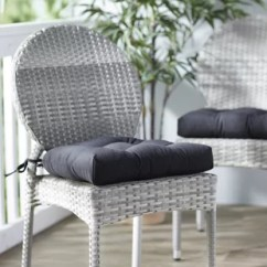 Grey Chair Cushions High Top Table And Chairs Outside Find Seat For Your Kitchen Wayfair Indoor Outdoor Dining Cushion Set Of 2
