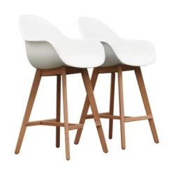 Chair And Matching Stool Babyhome High Bar Stools Chairs Wayfair Quickview