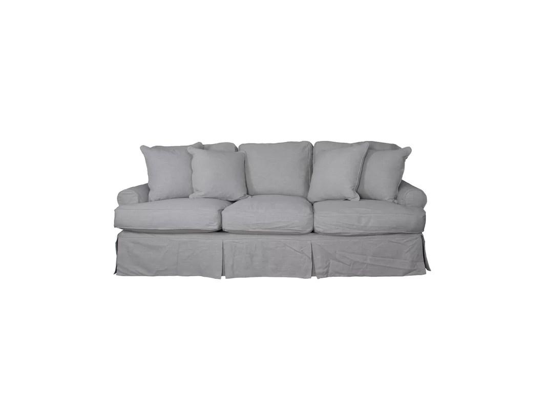 cushion sofa set milano white leather corner callie t slipcover and reviews joss main