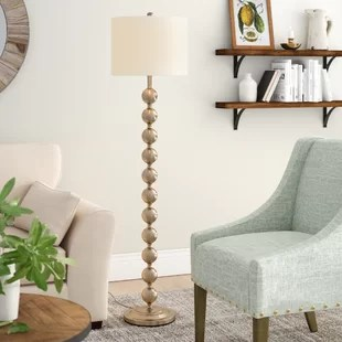 living room standing lamp interior floor lamps you ll love wayfair quickview
