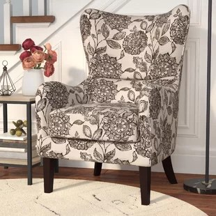 cool living room chairs cape cod style furniture accent you ll love wayfair grangeville wingback chair