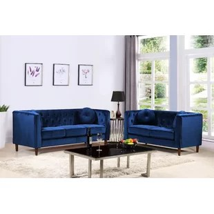 blue living room sets contemporary designs you ll love wayfair quickview