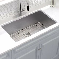 Buy Undermount Kitchen Sink Rehab On A Budget Khu32 Kraus Pax 31 X 18 With Drain Assembly