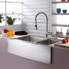 Kitchen Sink Farmhouse Floor Tile Installation Cost Sinks You Ll Love Wayfair Quickview
