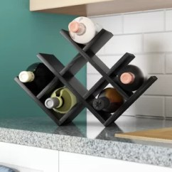 Kitchen Wine Rack Majestic Cabinets Find Racks For Your Wayfair Butterfly 8 Bottle Tabletop