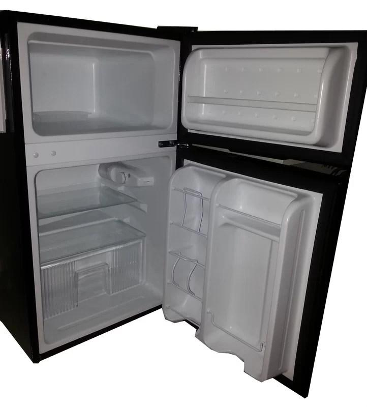 Equator Midea 3.1 cu. ft. Compact Refrigerator with Freezer & Reviews   Wayfair.ca