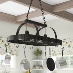 Kitchen Pot Rack Decor Darby Home Co 2 Light Reviews Wayfair