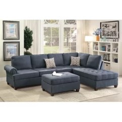 Hayden Sectional Sofa With Reversible Chaise Camas Baratos Madrid Bobkona Wayfair Quickview