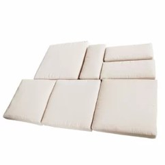 Sofa Pads Uk Small Sectional Sleeper Sofas Replacement Cushions Wayfair Co Outsunny Cushion Slipcover