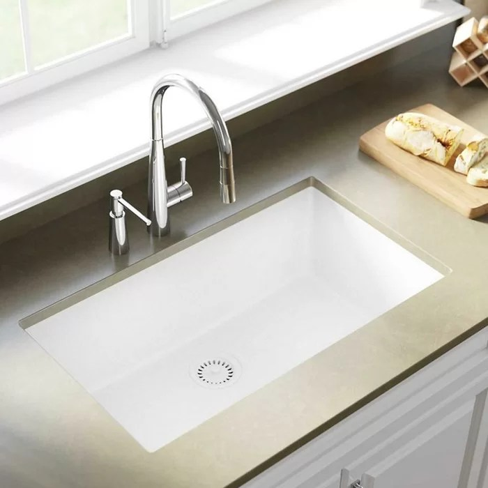 elkay kitchen sinks pulls and handles for cabinets quartz classic 33 x 18 undermount sink reviews wayfair ca