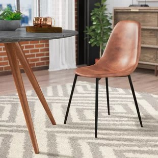 small scale upholstered dining chairs moon lounge chair wayfair quickview