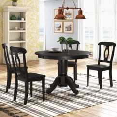 Round Dining Chairs Card Table And Set Kitchen Room Sets You Ll Love Wayfair Quickview