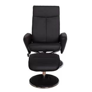 ergonomic recliner chair hanging van best wayfair haverty high back manual swivel with ottoman