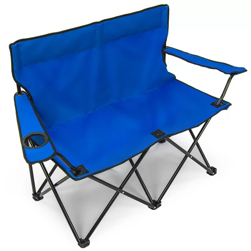 double camping chairs folding desk chair blue freeport park parley camp wayfair