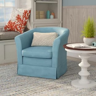 swivel chair in living room comfortable chairs you ll love wayfair quickview