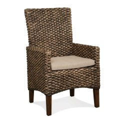 Seagrass Arm Chair Design Restaurant Birch Lane Heritage Heliodoro Woven Chairs Reviews