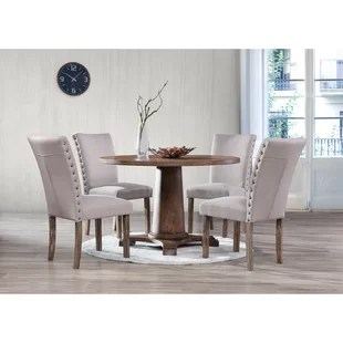 round table and chairs set keller barber chair kitchen dining room sets you ll love wayfair metropole 5 piece
