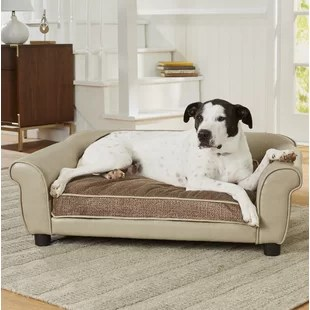 enchanted home mackenzie pet sofa fast movie trailer maltese dog wayfair lovelace maxwell