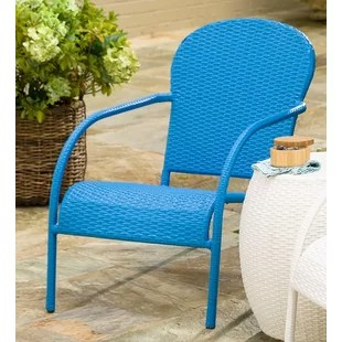 turquoise patio chairs baby swing vibrating chair stackable wayfair quickview