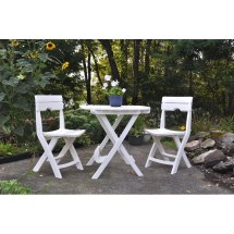 Andover Mills Quebec Folding Resin Bistro Table &
