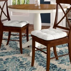 White Tufted Chair Poang Cushion Wayfair Quickview