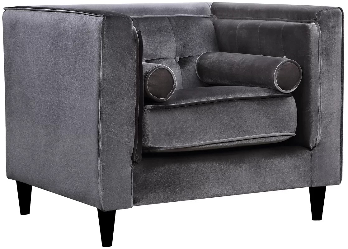 Velvet Club Chair Roberta Velvet Club Chair And Reviews Joss And Main