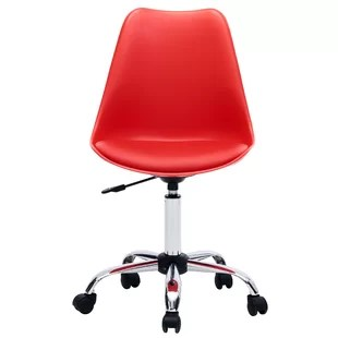 office chair red wingback with ottoman chairs you ll love wayfair quickview