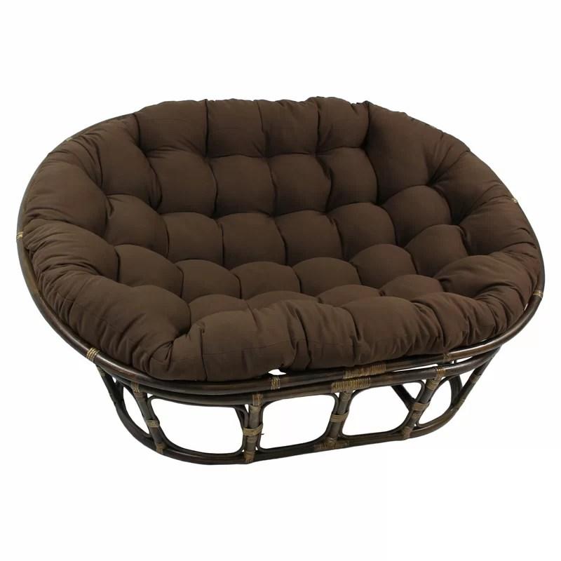 Papasan Double Chair